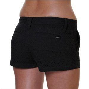 "Hurley Lowrider 2.5"" Black Shorts"